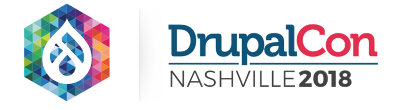 DrupalCon 2018 hexagon logo
